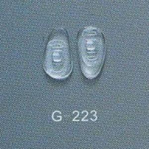 광학 프레임, 안경알 코 패드를 위한 실리콘 코 패드