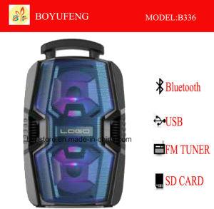 건전지 Bluetooth (B336)를 가진 직업적인 휴대용 (트롤리) 스피커