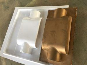 セリウムと小型機械を形作る小さいデスクトップ表の真空