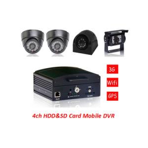 4CH coche DVR /4CH VEHÍCULO DVR /4CH HDD SD&Mobile Dvr /4CH Video Mobile DVR