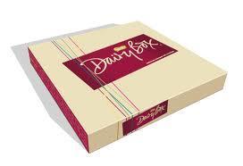 Boîte cadeau papier 2016 /Fashion Style Boîte de papier alimentaire