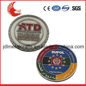 ビジネスギフト(086)としてカスタマイズされた昇進の軍隊の挑戦硬貨