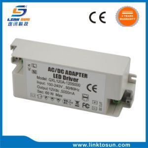 Rifornimento della Banca di potere dell'indicatore luminoso del tubo del driver 60W 12V 5A del LED