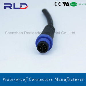 IP68は電源コードの接合箇所のコネクターを防水する