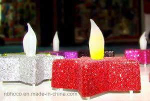 Funkeln-Stern-Kerzen LED-Praty mit Batterie