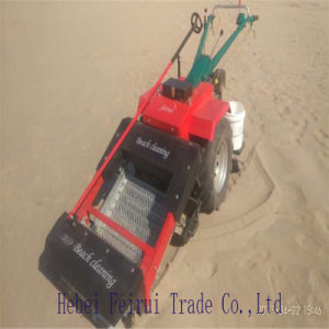 Limpiador de la playa, playa de la máquina limpia