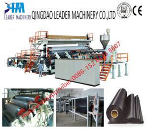 HDPE PE de Machine van de Extruder van de Uitdrijving van Geomembrane (8000mm breedte)