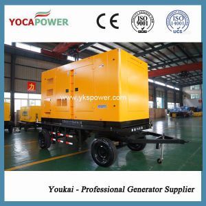 250kVA/200kw 이동할 수 있는 방음 전기 디젤 엔진 발전기