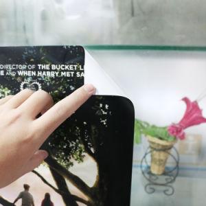 Оптовая торговля виниловая табличка Diecut наклейки из прозрачного стекла