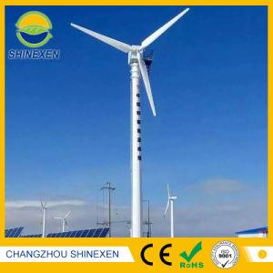 По горизонтальной оси ветровых генераторов 3Квт ветровой турбины