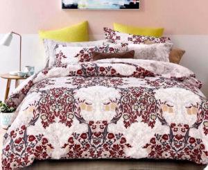 Barato Indian Malásia Ásia Venda quente 130gsm Bedsheet Poliéster impresso