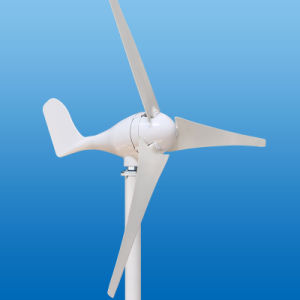 Низкая скорость ветра для запуска 12V 24V 300W вертикальный ветровой электростанции