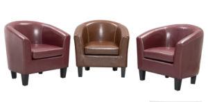 Современной гостиной мебель для дома с кожаными Upholsterde в разных цветовых