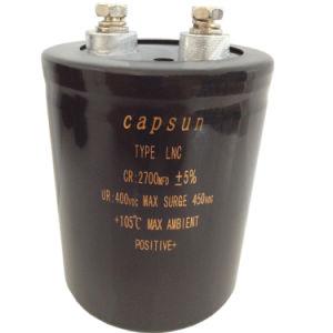 Производитель прямых продаж 420V2700ОФ высокого напряжения конденсатор Capsun торговой марки оригинальные алюминиевые электролитические конденсаторы