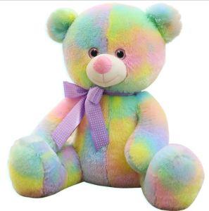Adorável Ursinho de Pelúcia coloridos urso de pelúcia Personalizado Teddy para promoção