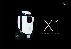 Scooter Electrico Scooter ELé Ctrico plegable / Silla de ruedas que se puede llevar a bordo