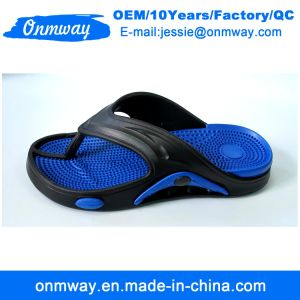 Cinq couleurs EVA Hommes tongs chaussures