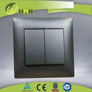 Ce/TUV/CB certificado estándar Europeo Interruptor de pared mate