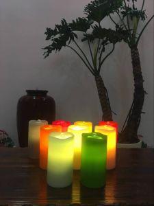 Ver Video Efecto fuente dinámica Velas LED sin flama