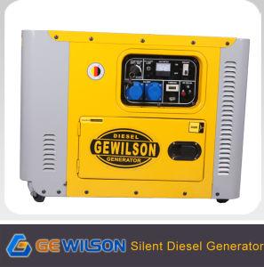Gerador Diesel super silencioso portátil com marcação CE