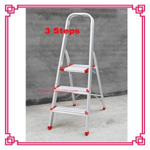 3step CE/En131のアルミニウムHousehold Ladder