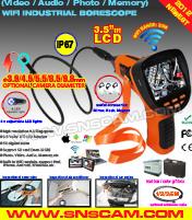 WiFi industrieller Endoscope mit 3.5 Schirm der Zoll-Farben-TFT-LCD