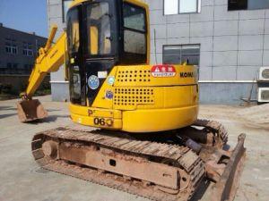 Piccolo mini escavatore utilizzato KOMATSU PC75-3 da vendere