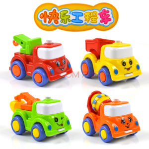 機械を作るおもちゃ車