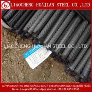 Staaf van het Staal van het staal Rebar Misvormde voor Bouw