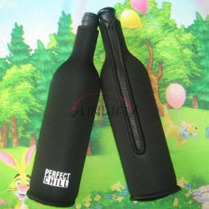 Aislados de neopreno, titular de la botella de vino botella de cerveza del refrigerador (BC0006)