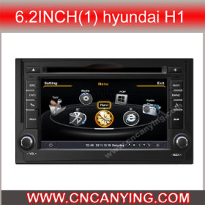 GPS를 가진 6.2inch (1) Hyundai H1, Bluetooth를 위한 특별한 Car DVD Player. A8 Chipset Dual Core 1080P V-20 Disc WiFi 3G 인터넷 (CY-C233로)