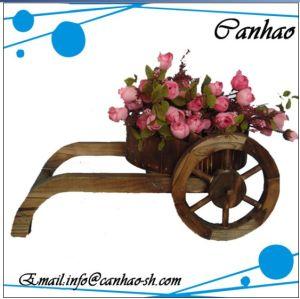 Деревянные Flower Pot /Сад Pot/Cartwheel Flower Pot (NF3004)