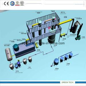 Condición nuevo filtro de aceite de residuos de plantas de refinación 10 toneladas por día