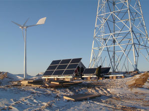 L'onore Ane di Qingdao ha progettato il sistema di rifornimento ibrido solare del vento per la stazione base mobile