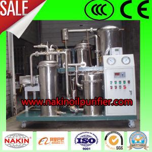 Utilisé de dépression du système de raffinage de purification de l'huile de cuisson, machine de filtre à huile
