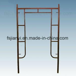柔軟性の建設用機器鋼鉄Hフレームの足場