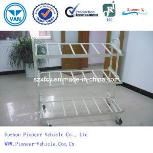 Logistik-Laufkatze-Einkaufswagen-magnetischer Speicher-Regal (PV-S06-1)