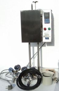 La filtropressa, Hthp, 500 ml, raddoppia la cella ricoperta per gli schermi di prova del cemento, la pressione N2/CO2