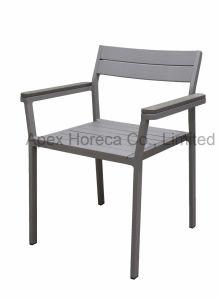 Im Freienfreizeit, die Stuhl-Gaststätte-Hotel-Möbel speist