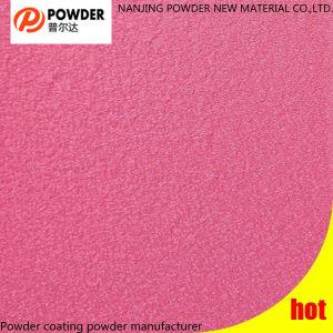 Laufen der rosafarbenen Beschaffenheits-Teflonpuder-Beschichtung