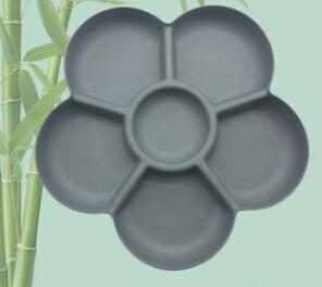 Haute qualité à éco Fibre de bambou vaisselle plaque (YK-P4029)