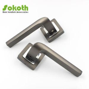 Schwarzer Nickel-Ende-Aluminiumlegierung-Tür-Griff mit Qualität