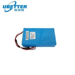 Bateria de Lítio 26650 LiFePO4 24V 16ah para luz de Rua Solar