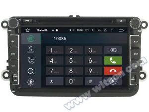 Witson Octa-Core (oito core) Android Market 8.0 aluguer de DVD para a VW Jetta/Tiguan/Passat 4G ROM Ecrã Táctil 1080P 32GB ROM ecrã IPS