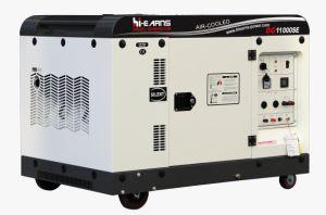 7.5kw leiser Typ luftgekühlte Dieselgenerator-Serie Dg11000se