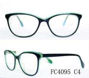 Optische Frame van het Oogglas van vier van de Kleur het Modieuze Vrouwen van de Acetaat