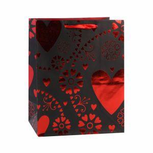 В День Святого Валентина супермаркет одежды ремесел романтика подарок бумажные мешки