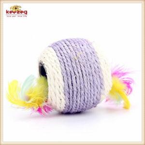 Haustier-Produkt-Sisal-kleines Kugel-Katze-Spielzeug (KB3017)