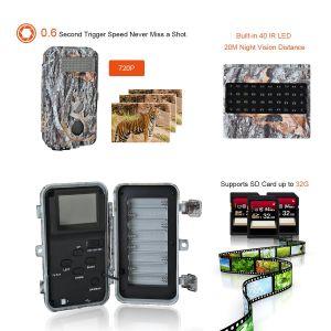 Для использования вне помещений HD охота Trail камеры