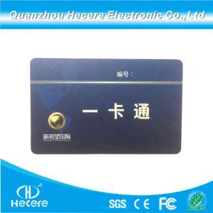 Imprimé 125kHz RFID de personnalisation de carte d'ID de PVC
